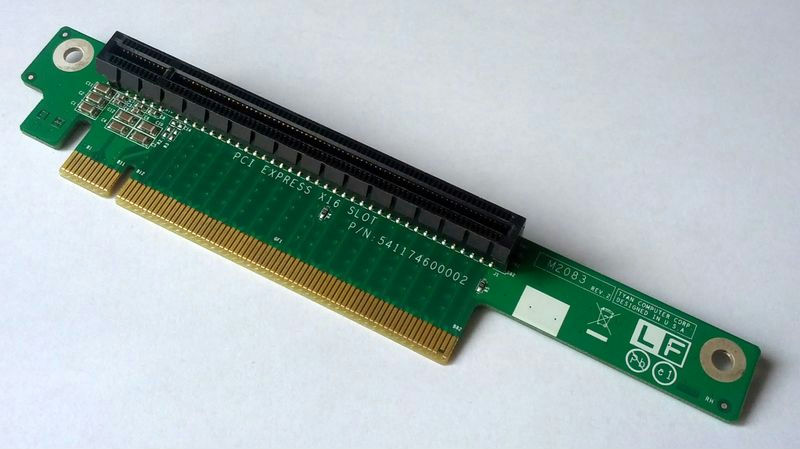 1U PCI Express x16 Riser Card Tyan